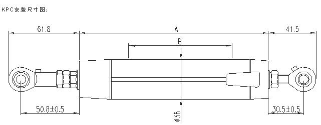直线位移传感器-kpc